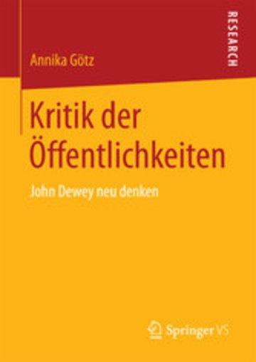 eBook Kritik der Öffentlichkeiten Cover