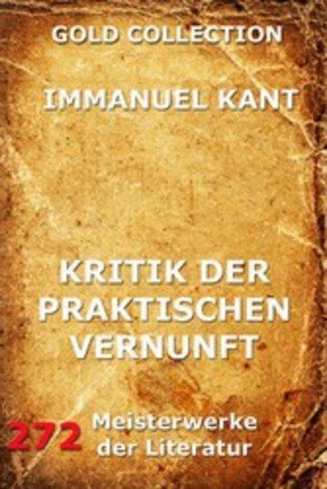eBook Kritik der praktischen Vernunft Cover