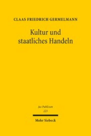 eBook Kultur und staatliches Handeln Cover