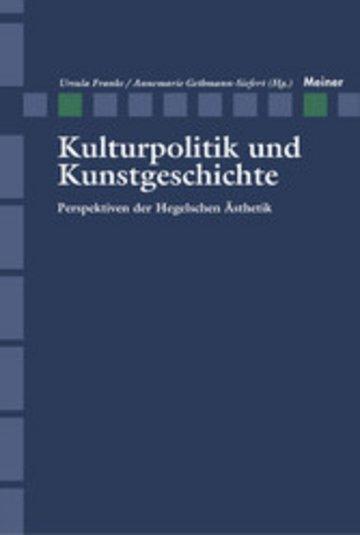 eBook Kulturpolitik und Kunstgeschichte Cover