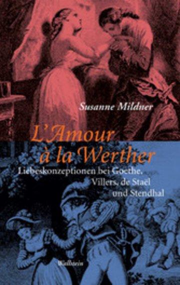 eBook L'Amour à la Werther Cover