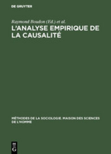 eBook L'analyse empirique de la causalité Cover