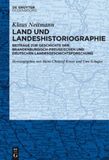 eBook Land und Landeshistoriographie Cover