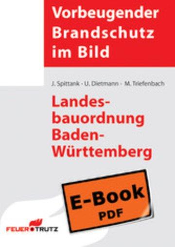 eBook Landesbauordnung Baden-Württemberg (E-Book) Cover
