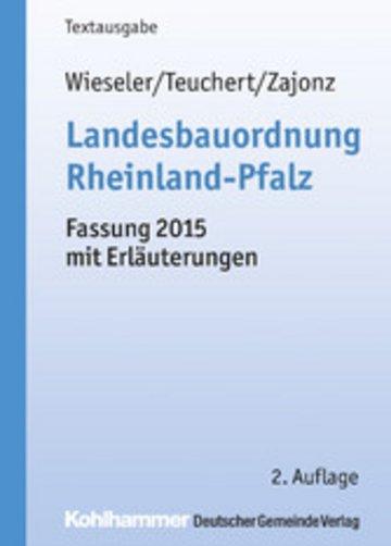 eBook Landesbauordnung Rheinland-Pfalz Cover