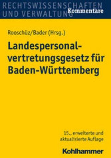 eBook Landespersonalvertretungsgesetz für Baden-Württemberg Cover
