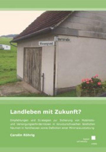 eBook Landleben mit Zukunft? Cover