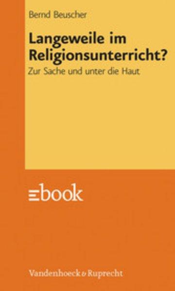 eBook Langeweile im Religionsunterricht? Cover
