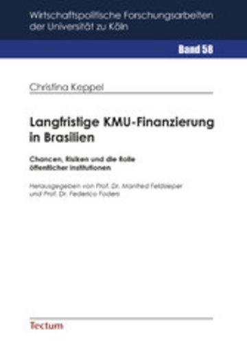 eBook Langfristige KMU-Finanzierung in Brasilien Cover