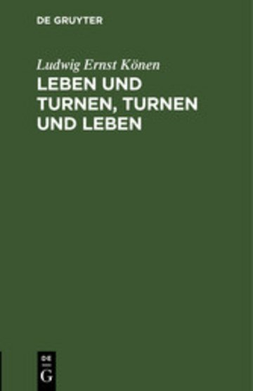 eBook Leben und Turnen, Turnen und Leben Cover