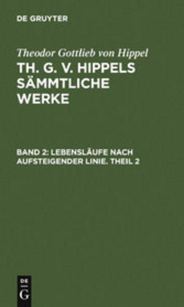 eBook Lebensläufe nach aufsteigender Linie. Theil 2 Cover