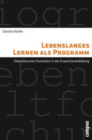 eBook Lebenslanges Lernen als Programm Cover
