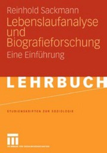 eBook Lebenslaufanalyse und Biografieforschung Cover