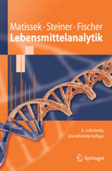 eBook Lebensmittelanalytik Cover