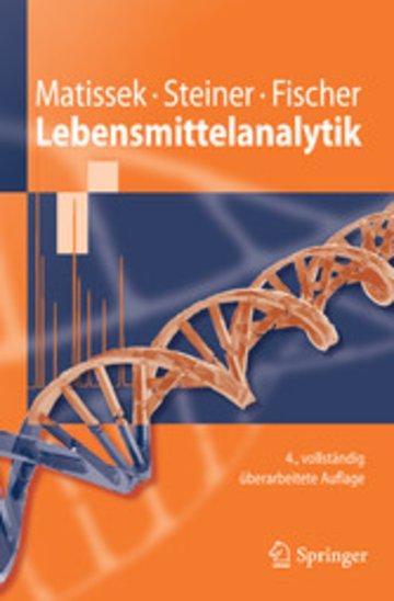 eBook Lebensmittelanalytik Cover