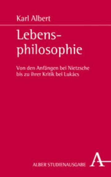 eBook Lebensphilosophie Cover