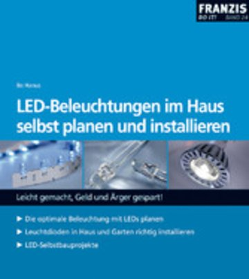 eBook LED-Beleuchtungen im Haus selbst planen und installieren Cover