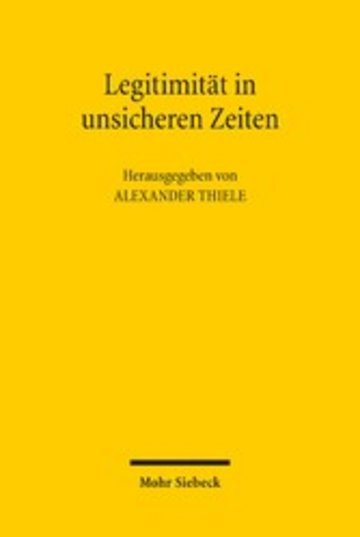 eBook Legitimität in unsicheren Zeiten Cover