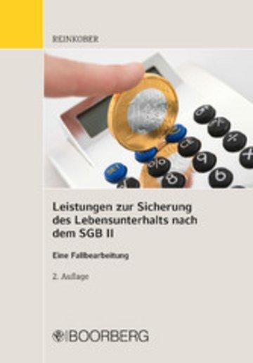 eBook Leistungen zur Sicherung des Lebensunterhaltes nach dem SGB II Cover