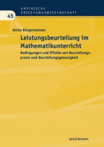 eBook Leistungsbeurteilung im Mathematikunterricht Cover