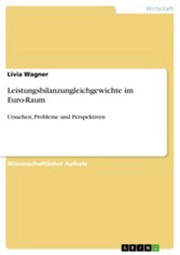 eBook Leistungsbilanzungleichgewichte im Euro-Raum Cover