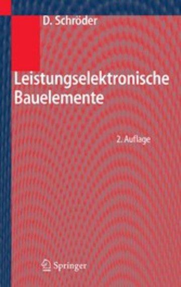 eBook Leistungselektronische Bauelemente Cover