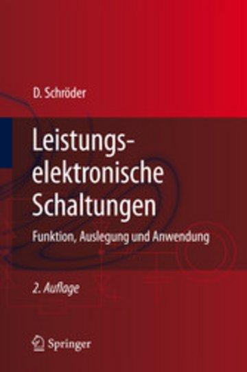 eBook Leistungselektronische Schaltungen Cover