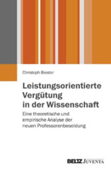 eBook Leistungsorientierte Vergütung in der Wissenschaft Cover