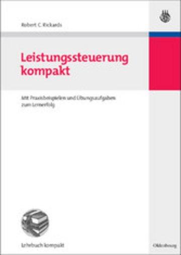 eBook Leistungssteuerung kompakt Cover