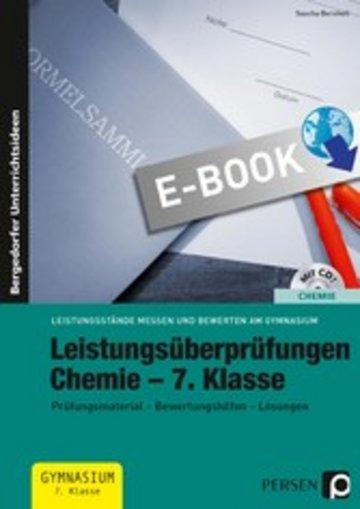 eBook Leistungsüberprüfungen Chemie - 7. Klasse Cover