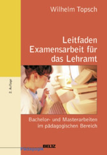 eBook Leitfaden Examensarbeit für das Lehramt Cover