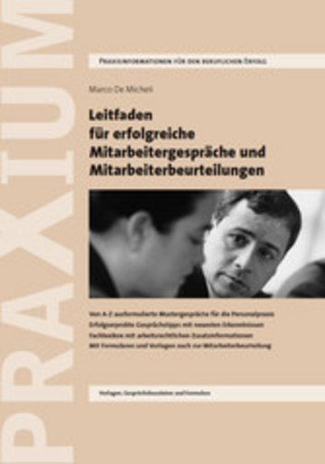 eBook Leitfaden für erfolgreiche Mitarbeitergespräche und Mitarbeiterbeurteilungen Cover