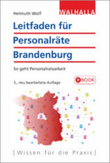 eBook Leitfaden für Personalräte Brandenburg Cover