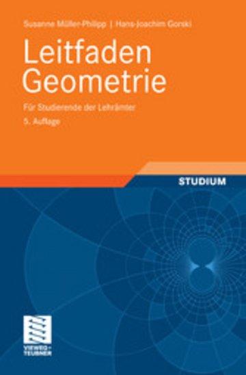 eBook Leitfaden Geometrie Cover
