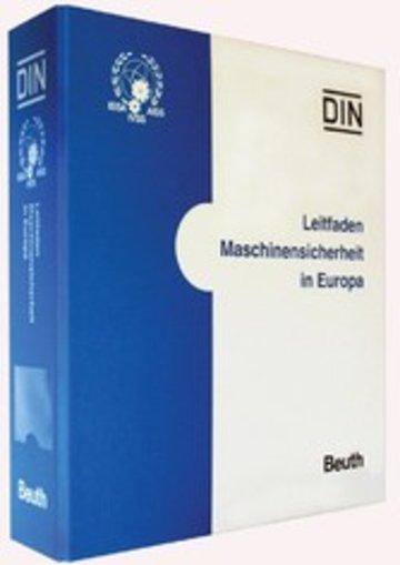 eBook Leitfaden Maschinensicherheit in Europa Cover