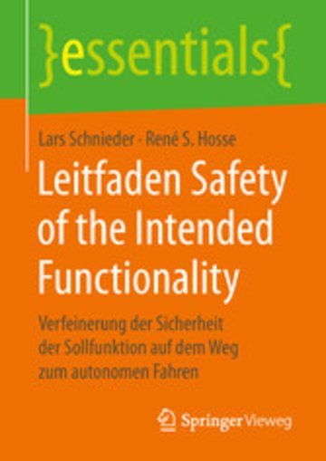 eBook Leitfaden Safety of the Intended Functionality Cover