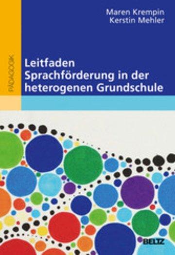 eBook Leitfaden Sprachförderung in der heterogenen Grundschule Cover