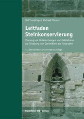 eBook Leitfaden Steinkonservierung. Cover