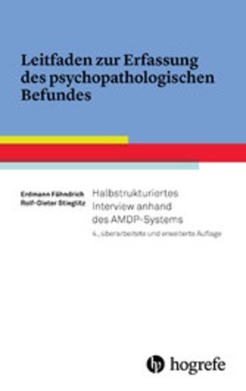 eBook Leitfaden zur Erfassung des psychopathologischen Befundes Cover