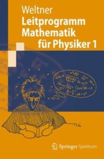 eBook Leitprogramm Mathematik für Physiker 1 Cover