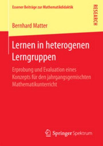 eBook Lernen in heterogenen Lerngruppen Cover