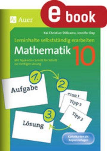 eBook Lerninhalte selbstständig erarbeiten Mathematik 10 Cover