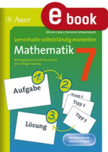eBook Lerninhalte selbstständig erarbeiten Mathematik 7 Cover