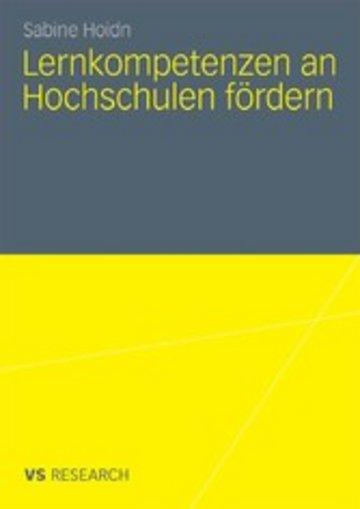 eBook Lernkompetenzen an Hochschulen fördern Cover
