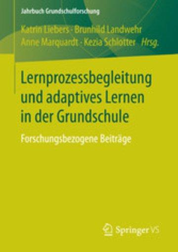 eBook Lernprozessbegleitung und adaptives Lernen in der Grundschule Cover