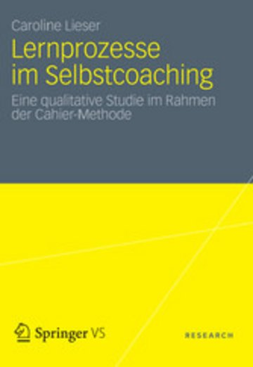 eBook Lernprozesse im Selbstcoaching Cover