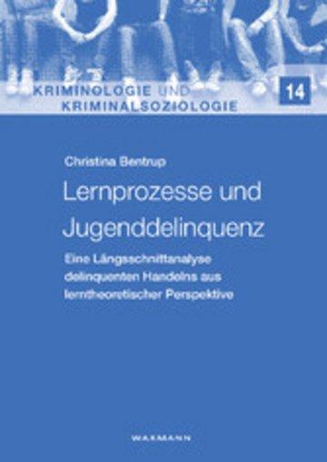 eBook Lernprozesse und Jugenddelinquenz Cover