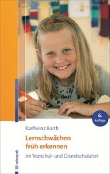 eBook Lernschwächen früh erkennen im Vorschul- und Grundschulalter Cover