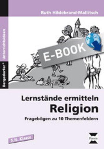 eBook Lernstände ermitteln: Religion 5./6. Klasse Cover