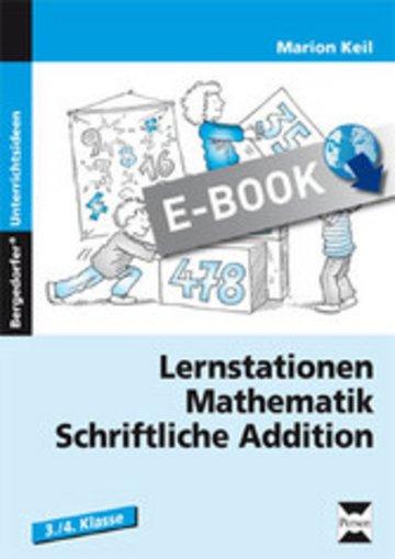 eBook Lernstationen Mathematik: Schriftliche Addition Cover
